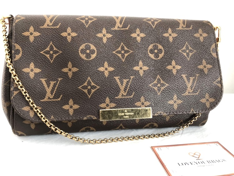 Louis Vuitton Favorite Monogram Canvas MM
