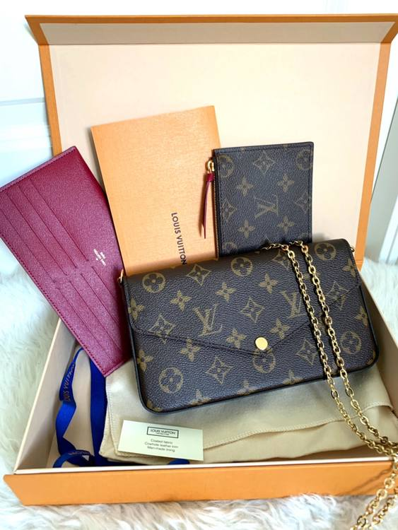 Louis Vuitton Pochette Félicie Monogram Canvas CA1149