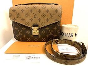 NEW!!! Louis Vuitton Pochette Métis Reverse M44876
