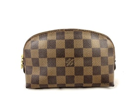 Louis Vuitton Cosmetic Pouch Damier Ebene PM