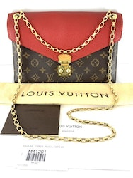 Louis Vuitton Pallas Chain Cerise  Monogram