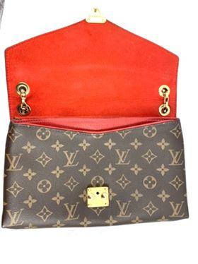 Louis Vuitton Pallas Chain Cerise  Monogram