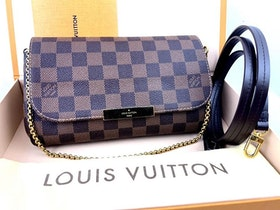 Louis Vuitton Favorite Damier Ebene Canvas PM