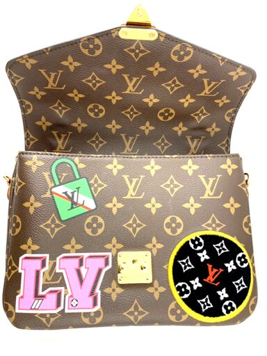 Louis Vuitton Monogram Patch Pochette Métis Limited Edition