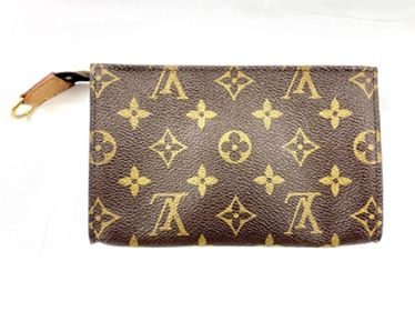 Louis Vuitton Monogram Bucket PM Pouch Attatched