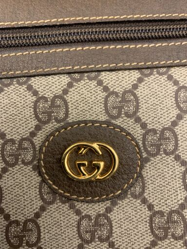 Vintage Gucci Supreme GG Canvas Clutch
