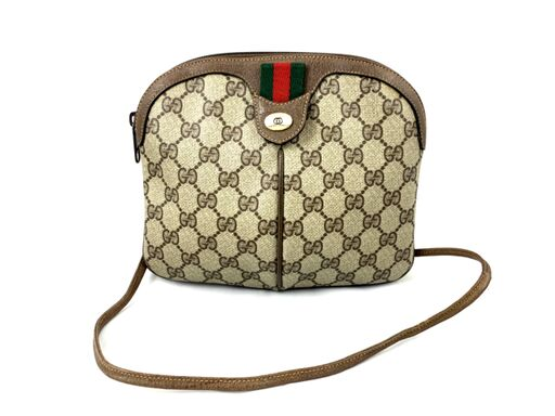 Vintage Gucci Ophidia Supreme GG Canvas Crossbody / Shoulder Bag