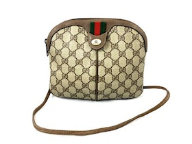 Vintage Gucci Ophidia Supreme GG Canvas Crossbody / Shoulder Bag