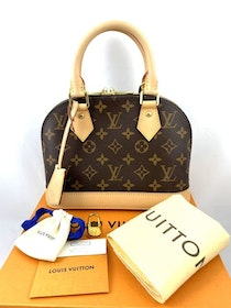 Louis Vuitton Alma BB Monogram Canvas