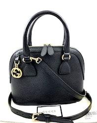 Gucci small Dome black Shoulder/ Hand bag