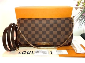 Brandnew! Louis Vuitton Damier Ebene Favorite MM