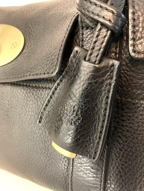 Mulberry Small Bayswater Black