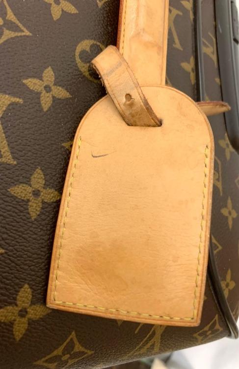 LOUIS VUITTON Pegase 65 Roller Luggage Brown Monogram Canvas