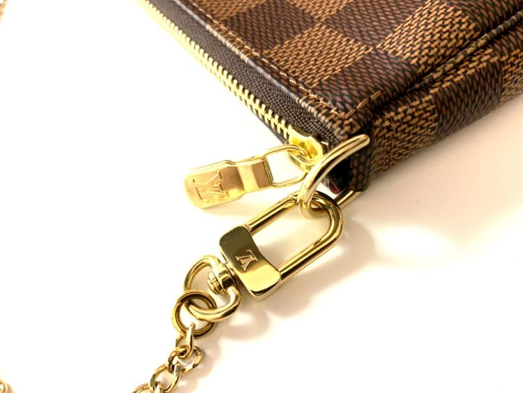 Louis Vuitton Mini Pochette Damier Ebene Bag