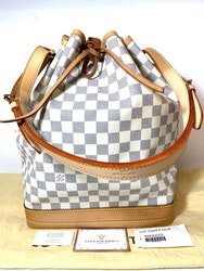 Louis Vuitton Noe GM Damier Azur Canvas Bag
