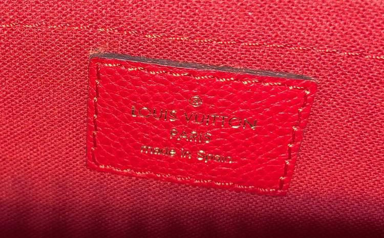 Louis Vuitton Pallas Clutch Monogram Canvas
