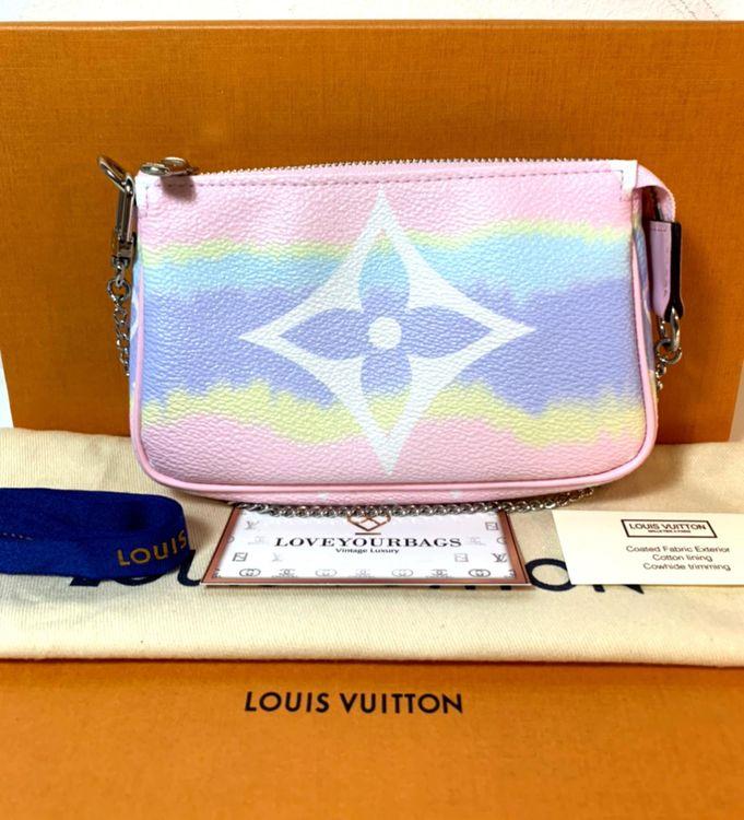 Louis Vuitton Mini Pochette Accessoires Escale Pastel Bag