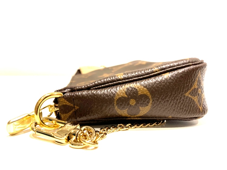Brandnew Louis Vuitton Mini Pochette Accessoires Monogram Canvas