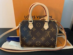 Brandnew Speedy Nano Monogram Crossbody Bag