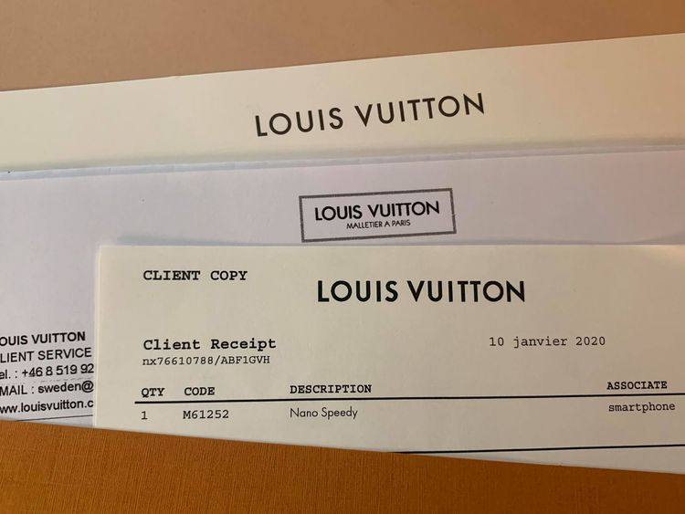 Louis Vuitton Speedy Nano Monogram Crossbody Bag