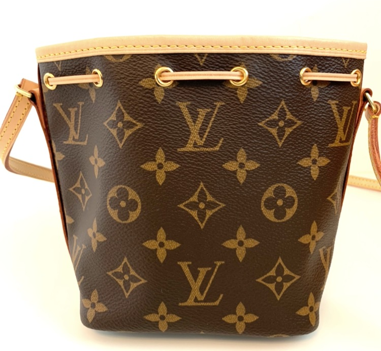 LOUIS VUITTON NANO NOÉ MONOGRAM CROSSBODY BAG