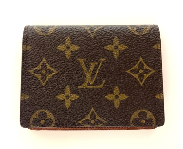 Vintage Louis Vuitton Card Holder Monogram Canvas