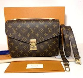Brandnew Louis Vuitton Pochette Metis Monogram Canvas