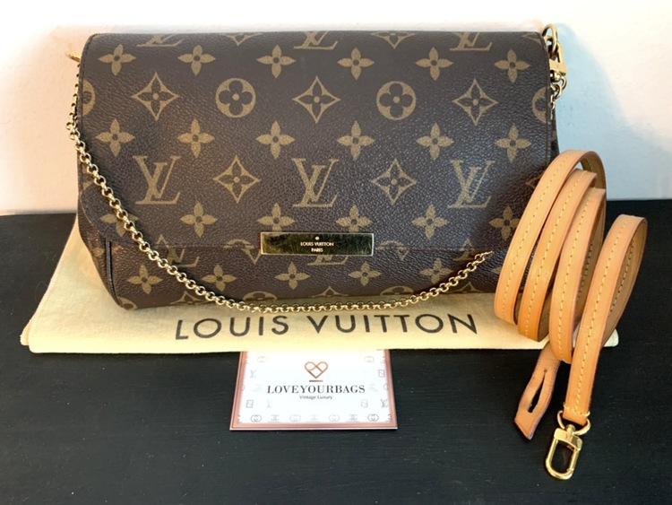 Louis Vuitton Favorite MM Monogram Canvas Crossbody Bag