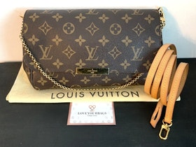 Louis Vuitton Favorite MM Monogram Canvas Crossbody Bag