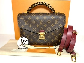 Louis Vuitton Pochette Métis Braided Handle/Crossbody Bag