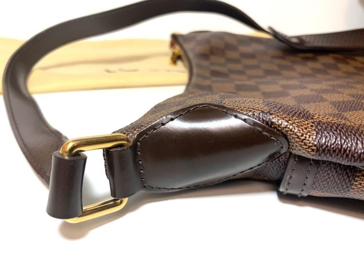 Louis Vuitton Bloomsbury PM Damier Ebene Canvas Crossbody Bag