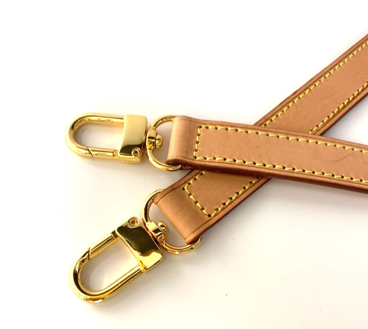 Adjustable 2 cm crossbody strap replacement genuine leather