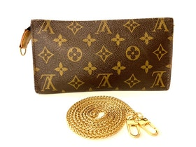 LOUIS VUITTON Bucket Pouch GM Monogram Bag