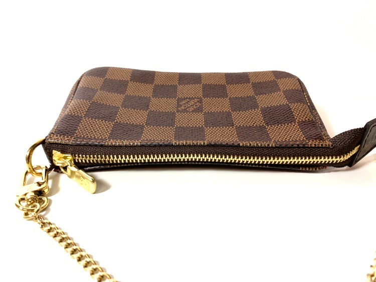 Louis Vuitton Mini Pochette Damier Ebene Canvas Bag