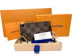 Louis Vuitton Key Pouch Damier Ebene Canvas