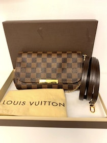 Louis Vuitton Favorite PM Damier Ebene Bag