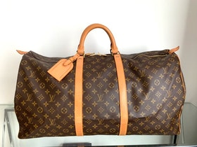 Louis Vuitton Keepall 60 Monogram Canvas Luggage Bag