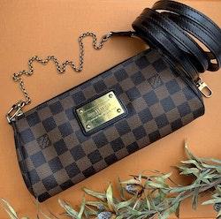 Louis Vuitton Eva Damier Ebene Canvas Bag