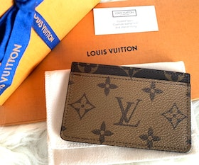 Louis Vuitton Card Holder Monogram Reverse Canvas