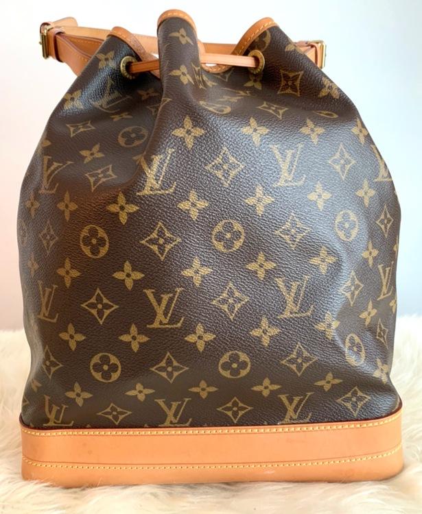 Louis Vuitton Grand Noe Monogram Canvas Bag