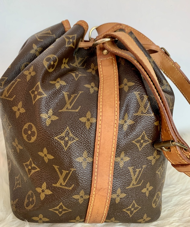 Louis Vuitton Vintage Noe Petit Monogram Canvas Bag