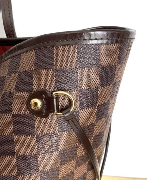 Louis Vuitton Neverfull MM Damier Ebene Canvas Bag