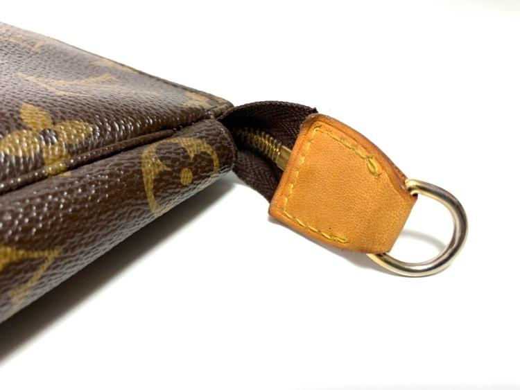 Louis Vuitton Pochette Accessoires Monogram Canvas Bag