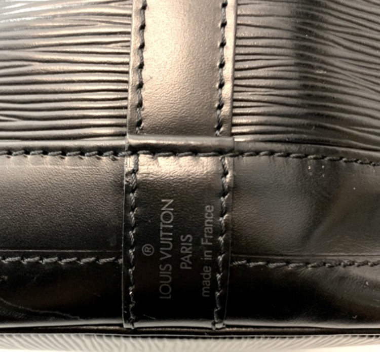 Louis Vuitton Noe GM Black Epi Leather