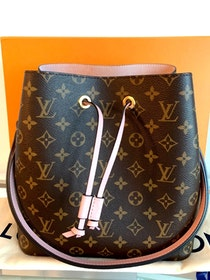 Louis Vuitton Neonoé Monogram Rose Poudre Bag