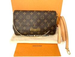 Louis Vuitton Favorite MM Monogram Canvas Shoulder/Crossbody Bag