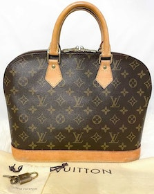 Louis Vuitton Alma PM Monogram Canvas Bag