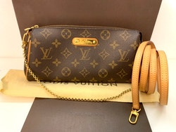 Louis Vuitton Eva Monogram Canvas Clutch/Crossbody Bag