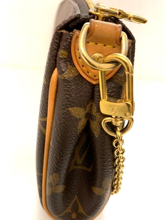 Louis Vuitton Eva Monogram Canvas Clutch/Crossbody Bag