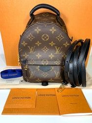 Louis Vuitton Mini Palmspring Monogram Canvas Bagpack